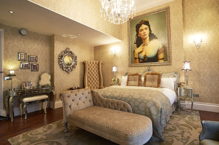 The Grosvenor Hotel's sumptuous Cora Pearl Suite. Learn more about the inspiration http://www.guoman.com/corporate/the_grosvenor_hotel_victoria_uncovers_the_courtesans_boudoir.html