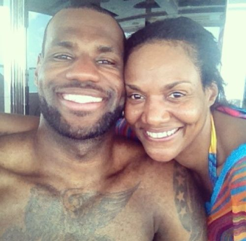 NBA Star Lebron James Writes Touching Tribute To His Mother Gloria James- http://getmybuzzup.com/wp-content/uploads/2014/01/242941-thumb.jpg- http://getmybuzzup.com/lebron-james-writes-touching-tribute/- Lebron James Writes Touching Tribute By Twana Tells  Miami Heat star LeBron James recently wrote an essay about the struggles his mother Gloria James had to go through raising him as a single mother in Ohio.  The essay is a part of a series created by Maria Shriver for TODAY