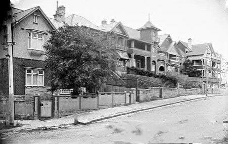 Carabella St,Milsons Point in northern Sydney in 1908.