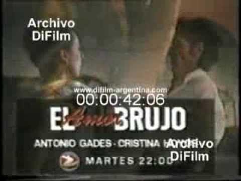 DiFilm - Avance El Amor Brujo con Antonio Gades y Cristina Hoyos (1993)