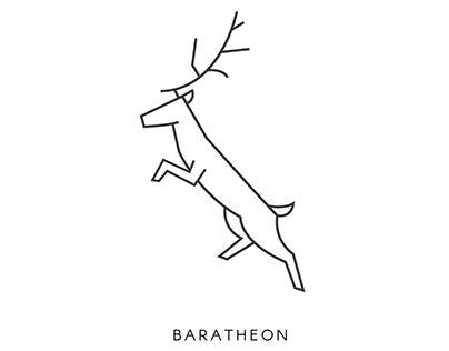"Check out new work on my @Behance portfolio: ""Baratheon Logo""…"