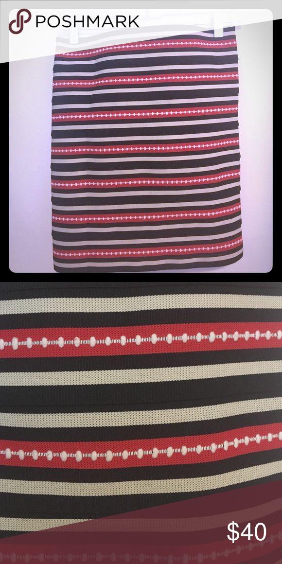 bandeau skirt • pleasure doing business Pleasure Doing Business 7 band skirt, very form fitting and flattering. Fits tighter than Spanks. Pleasure Doing Business Skirts Mini
