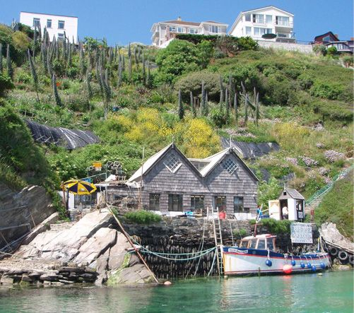 The Fern Pit Cafe & Ferry in Newquay is open daily from May to September. Established in 1910, the cafe and ferry are a family run business, on the bank of the River Gannel between East Pentire headland and Crantock Beach, on the edge of Newquay, Cornwall.