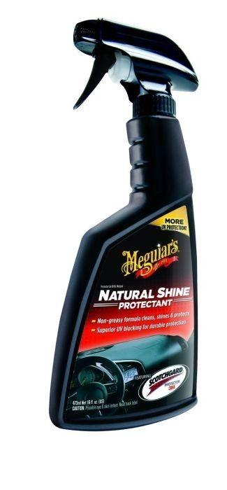 """Meguiar's Natural Shine - Mempertahankan tampilan mobil anda """"seperti Baru"""" selalu - harga jual murah online  Mempertahankan tampilan """"seperti Baru"""" Mild cleaning agents Perlindungan sinar UV 16 oz spray  http://tokomeguiars.com/interior/63-jual-meguiars-meguiar-s-natural-shine-mempertahankan-tampilan-mobil-anda-seperti-baru-selalu-harga-jual-murah-online.html  #meguiars #naturalshine #pembersihinteriormobil"""