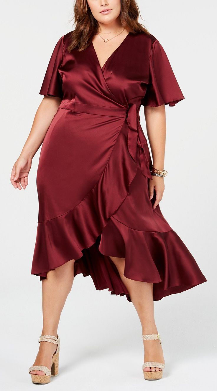 25fc850898b 45 Plus Size Wedding Guest Dresses  with Sleeves  - Plus Size Fall Wedding  Guest Dresses - Plus Size Fashion for Women - alexawebb.com  plussize ...