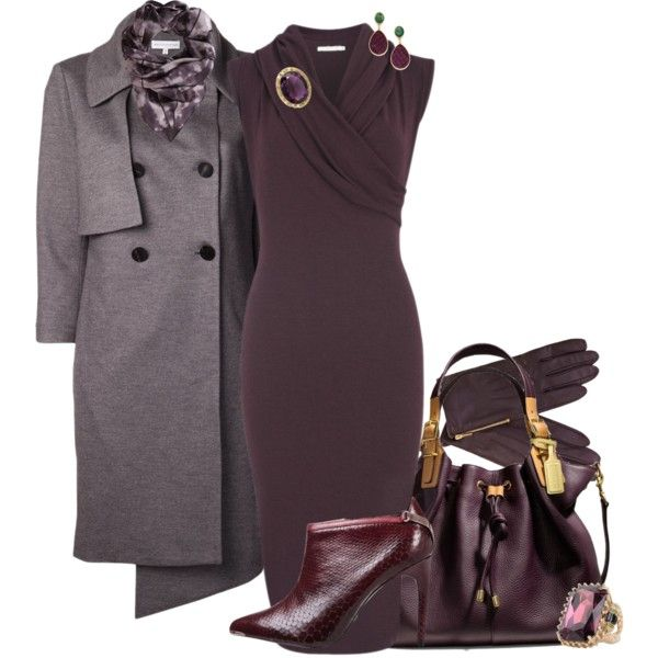 A fashion look from November 2013 featuring Nadia Tarr dresses, Nellie Partow coats and Ted Baker ankle booties. Browse and shop related looks.
