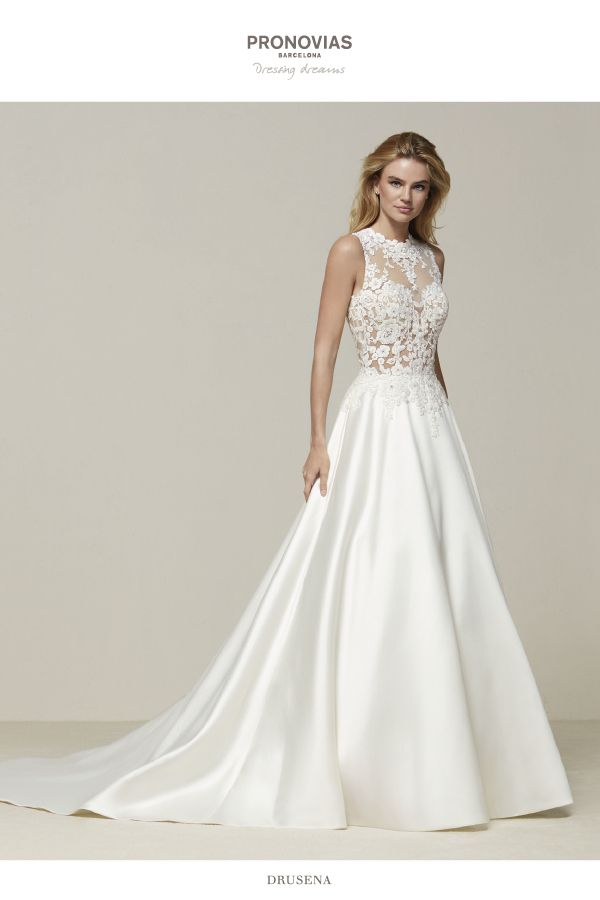 Pin by meliha bilgin on gelinlik pinterest wedding for Modest wedding dresses seattle