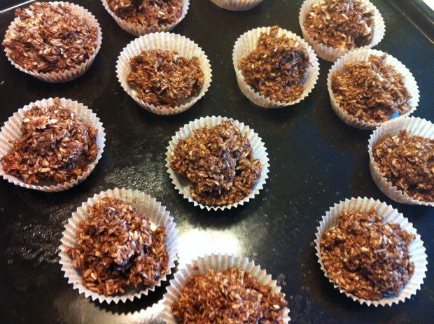 Åsas chokladkokostoppar - nosugaradded