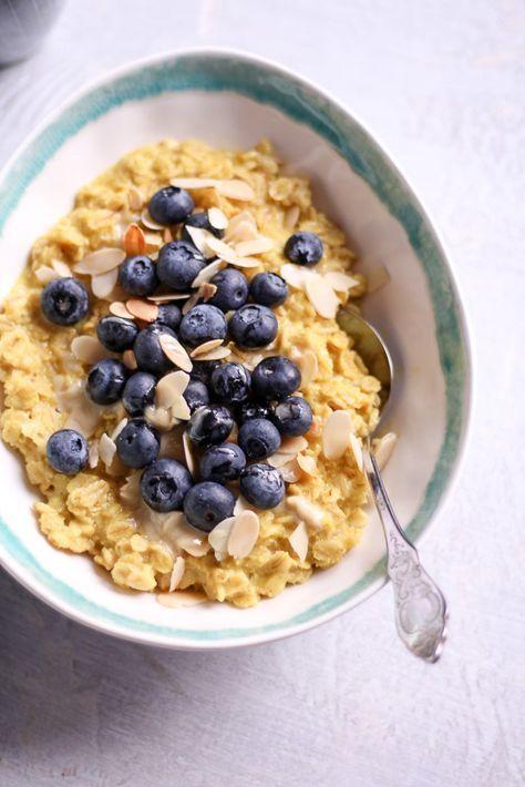 Kurkuma-Brei – rein pflanzlich, vegan, glutenfrei, ohne raffinierten Zucker …   – Essen&Trinken