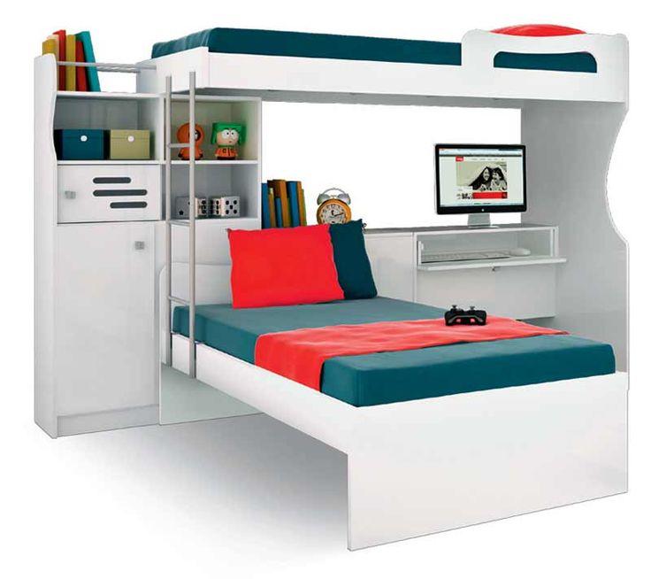 Aposte em beliches e multiplique os espaços - Casa
