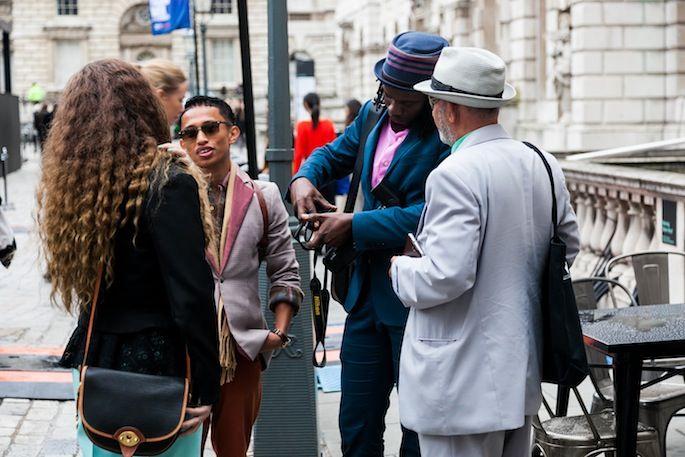 London Fashion Week SS14 Street Style Day 3
