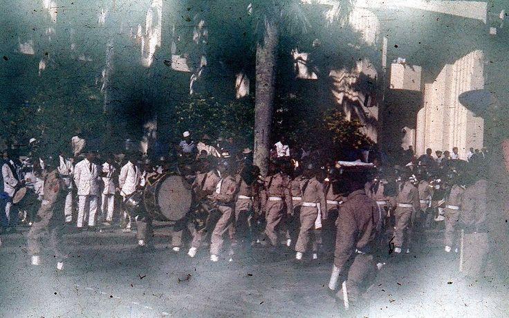Festumzug am Tag der Unabhängigkeit in Madagaskar