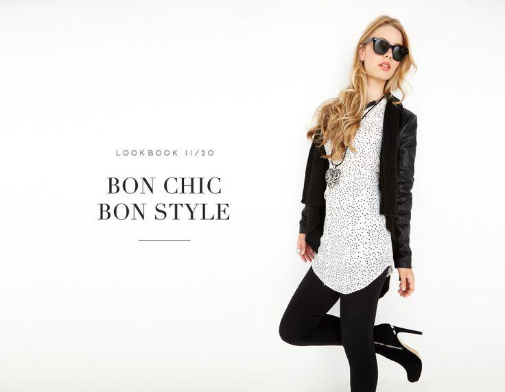BON CHIC, BON STYLE // PLAY IT COOL #blazer #jacket #tunic #dots #mode #fashion #femme #women #lookbook #fw16