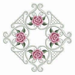 Pearl Roses Quilt 3 - 3 Sizes! | Quilt | Machine Embroidery Designs | SWAKembroidery.com Ace Points Embroidery