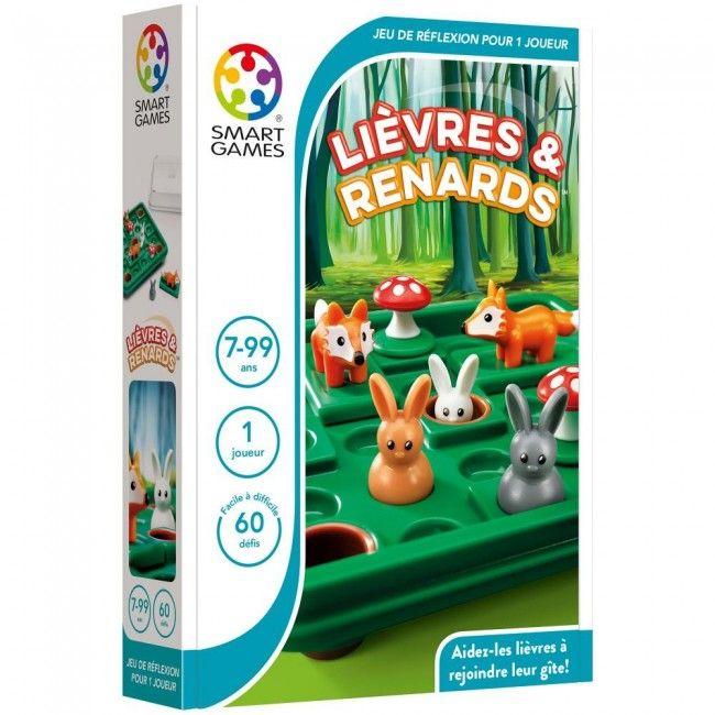 Smart games - Français Lièvres & Renards - Castello | Jeux et Jouets