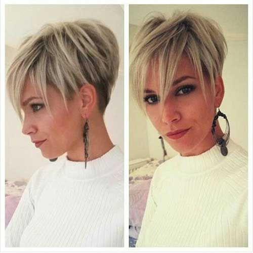 17.Short Hair Color