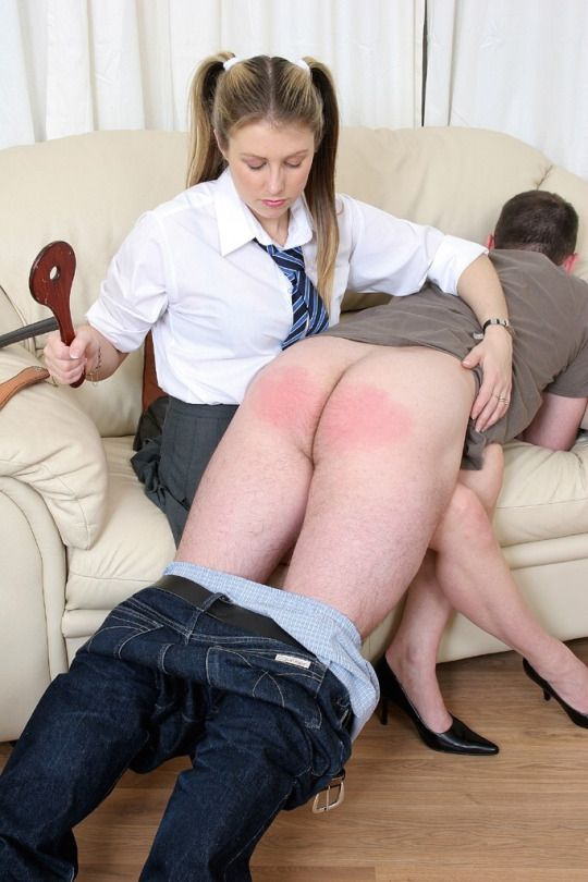 Naughty Men Getting Spanked