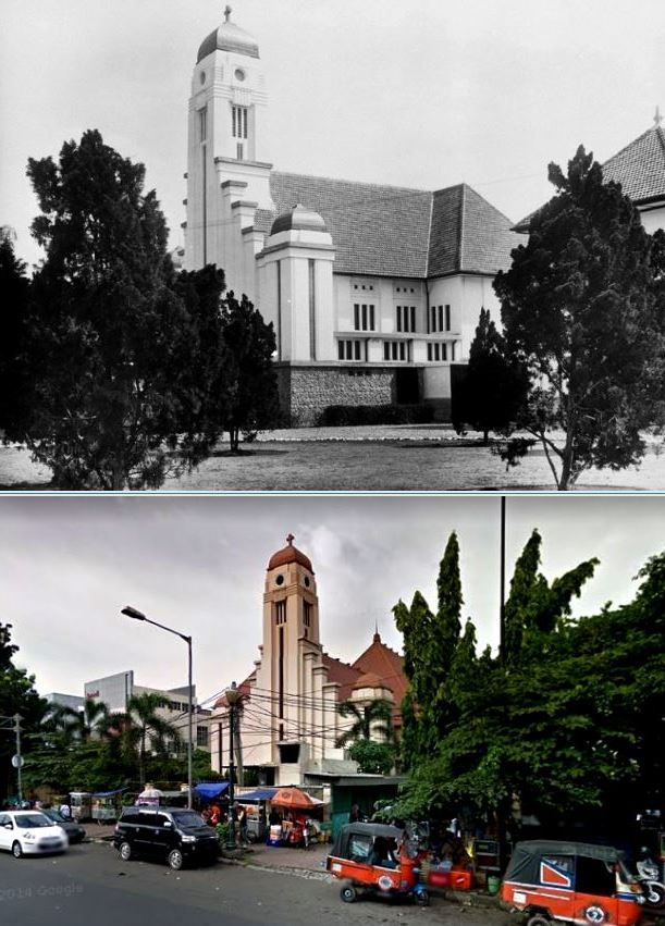 St. Jozefkerk, Batavia, ca 1925, ,.,  Paroki Matraman – St.Yoseph. Jl.Matraman Raya 127, Jakarta
