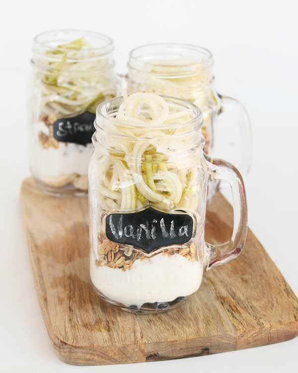 Curly fries, yogurt parfaits, noodles, dessert, and more!  Whether you are just looking for a way to make healthy eating easier or are a creative home cook, many people swear by their spiralizer recipes.