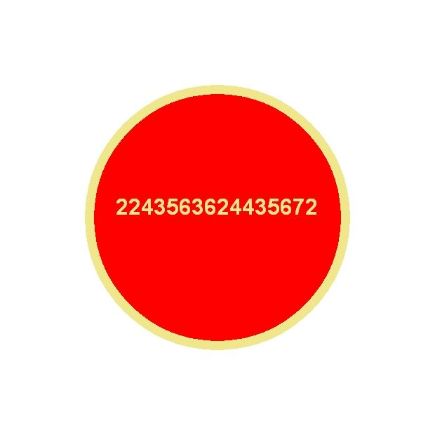 2243563624435672   Good Luck Number from Lloyd Mear