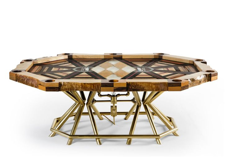 All In Poker Table by Akke Functional Art 1  The Unique All In World Poker Tour Tables Unusual Success Story