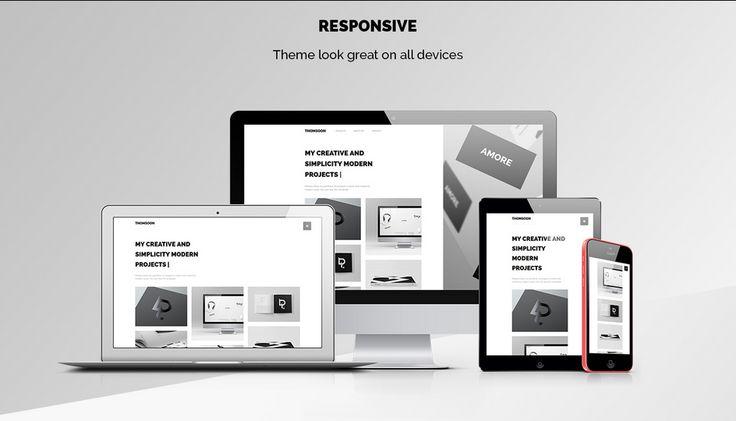 THOMSOON – responsive Portfolio Theme