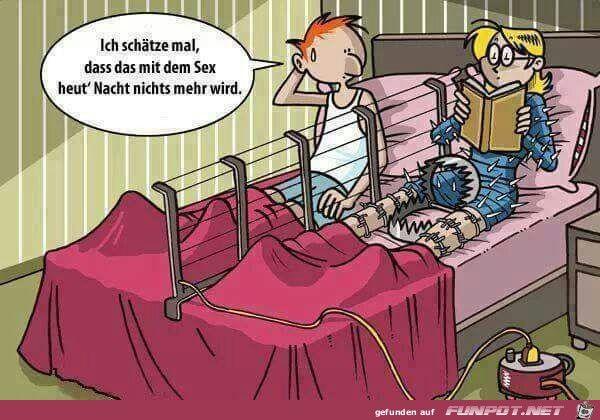 lustiges Bild 'heute kein Sex.jpg'- Eine von 3224 Dateien in der Kategorie 'Cartoons / Comics' auf FUNPOT.