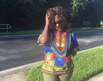 Dashiki, African Clothing, African Shirt! SALE!