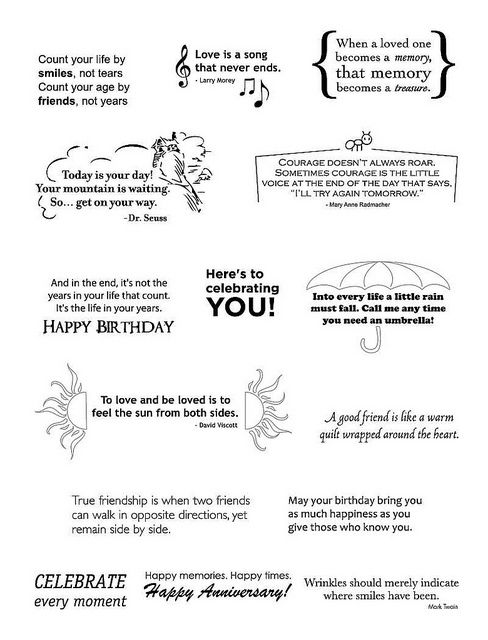 Quotes  for birthday