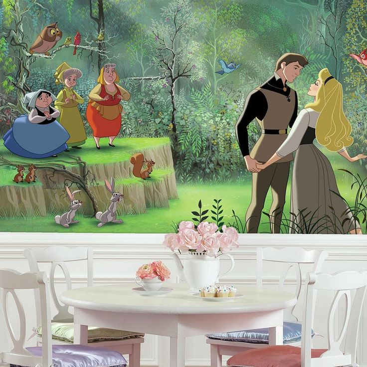 Best 25 disney princess decals ideas on pinterest for Disney princess ballroom mural