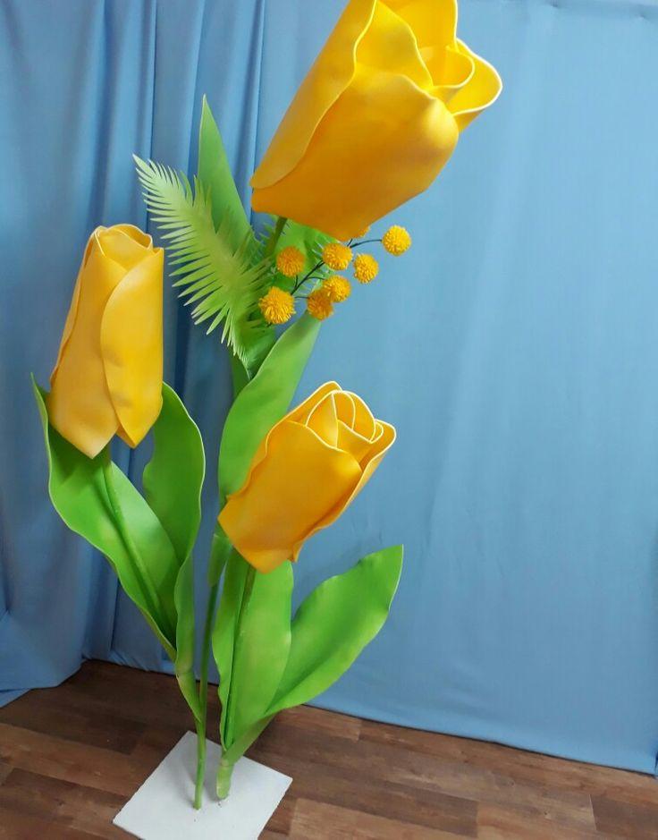 """Наши весенние цветы в исполнении студии декора """"на КРЫЛЬЯХ""""  @na_kriliyh_decor_studio"""