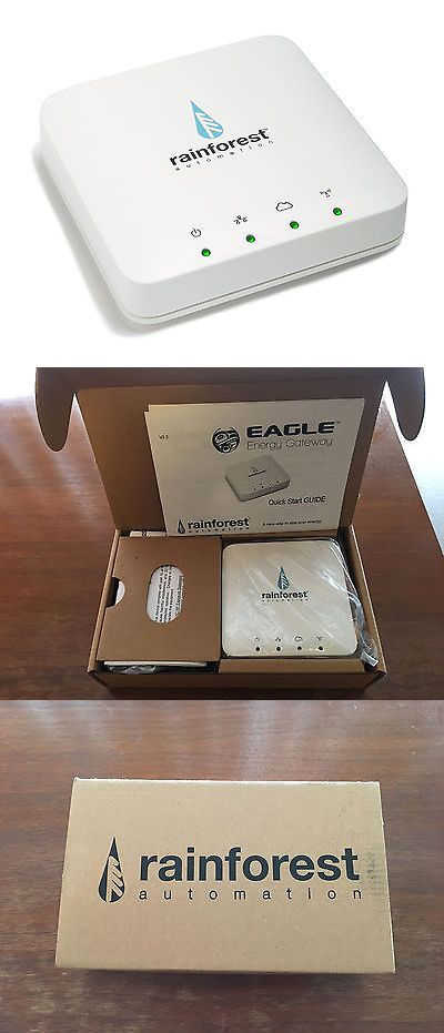 Home Automation Modules: Rainforest Eagle Energy Monitor And Zigbee Smart Energy Gateway New BUY IT NOW ONLY: $105.0