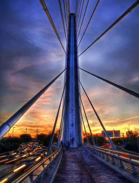 Spider Bridge, Sevilla, Spain