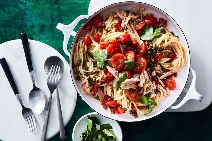 This store-cupboard supper is the perfect midweek pick-me-up that's ready in less than two-steps.