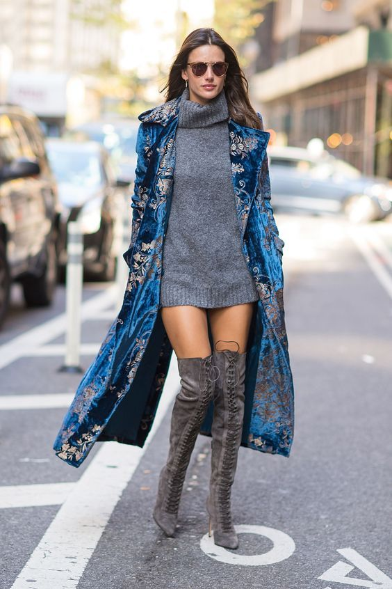 Alessandra Ambrosio Street Style. Those boots are beautiful!