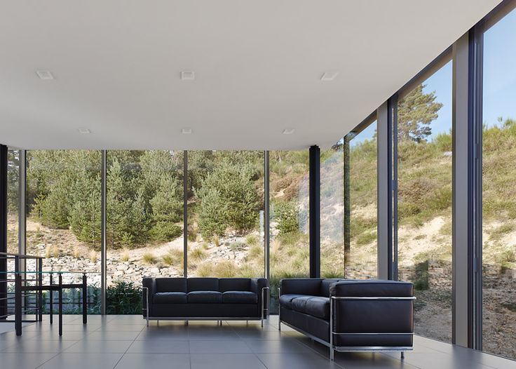Modern Architecture House Glass