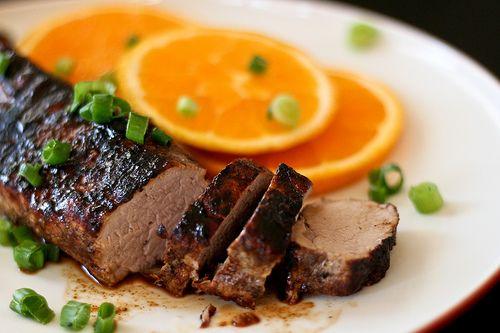 Orange & Five Spiced Pork Tenderloin