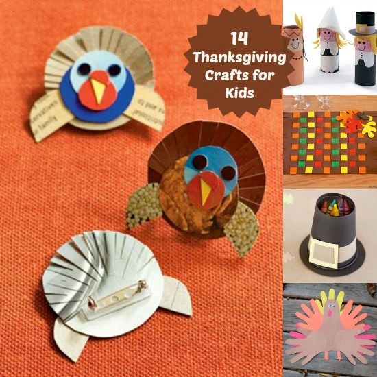 14 Easy Thanksgiving Crafts for Kids