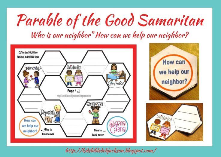 Bible Fun For Kids: Parable of the Good Samaritan