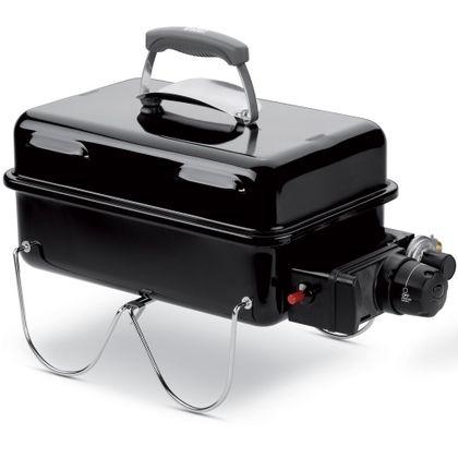 Dit is de gasversie van de Weber Go Anywhere barbecue. Het draagbare model zorgt ervoor dat hij makkelijk te gebruiken is voor onderweg. De barbecue werkt op wegwerp gasblikjes. >> http://www.kampeerwereld.nl/weber-go-anywhere-gasversie/