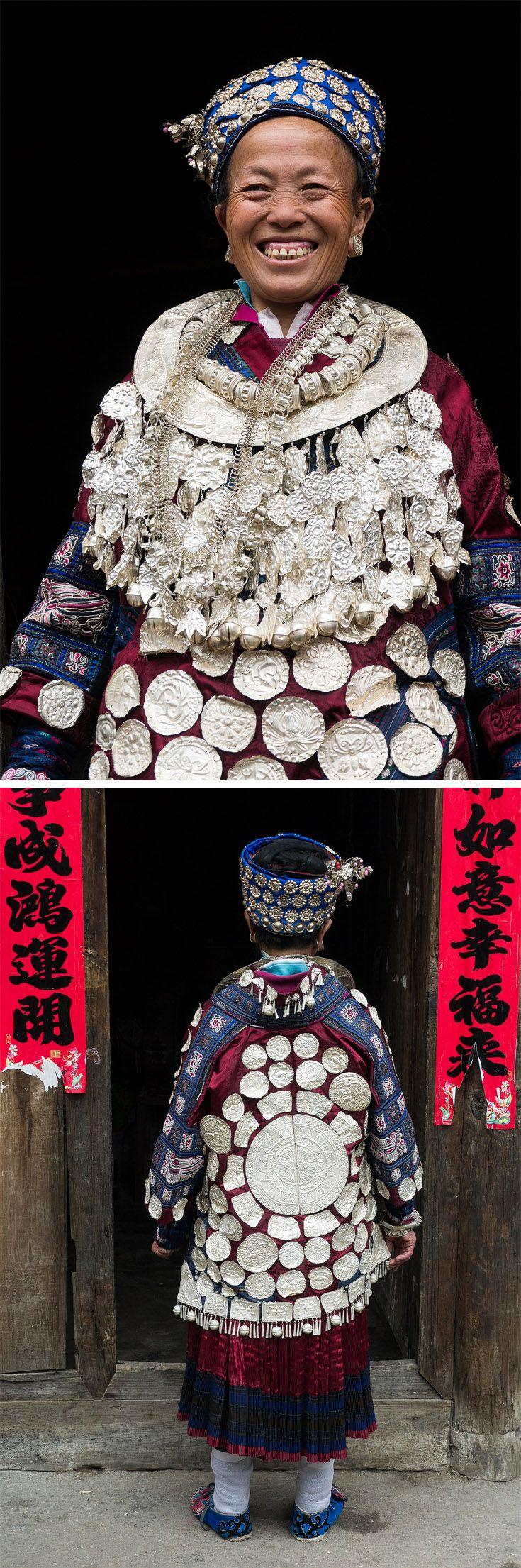 "China | ""Wengxiang Village, Geyi Sytle Miao"". Southwest China, Guizhou minotiries. | ©Rita Willaert"