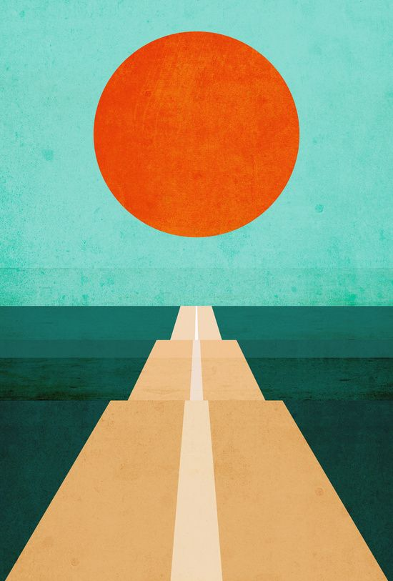 """New Post has been published on http://moreposter.de/poster-the-road-less-traveled-von-budi-kwan/ """" Poster 