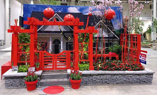 The Otium Exercise Garden at Canada Blooms 2014