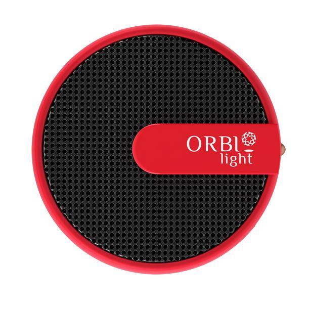 Desfrute de suas músicas em qualquer lugar, onde quer que esteja. A caixa de som ORBI oferece uma experiência de alta qualidade que cabe na palma da sua mão.