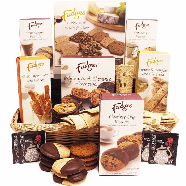 Henstridge Hamper  The Henstridge Hamper. A delicious range of luxury sweet & savoury biscuits from Fudges Dorset Village Bakery. Available all year round, this hamper is simply perfect for a wide range of special occasions.
