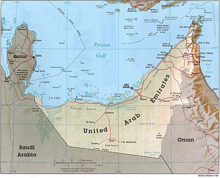 map of Jebel Ali