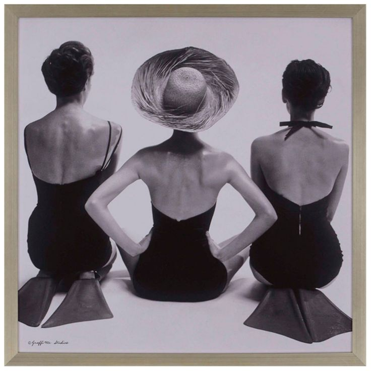 Paragon Decor 1950s Swim Suit Models Wall Art - 3936
