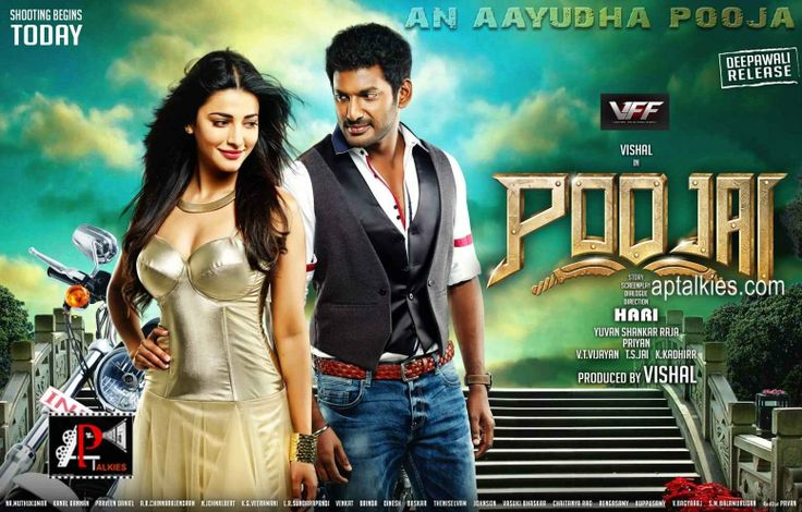 Poojai First Look Posters