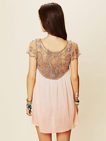 Fashion, Style, Freepeople, Cute Dresses, Free People Dresses, Shorts Dresses, Bridal Showers, Dreams Closets, Back Details