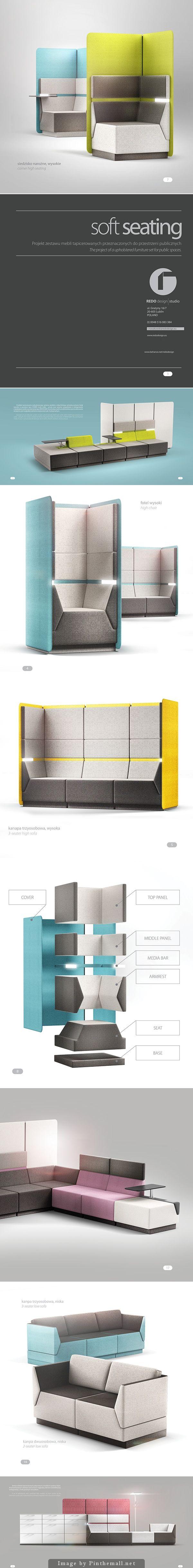 COVER soft seating system | Designer: REDO Design Studio